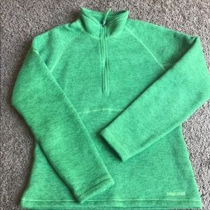Green Marmot Polartec Fleece; medium